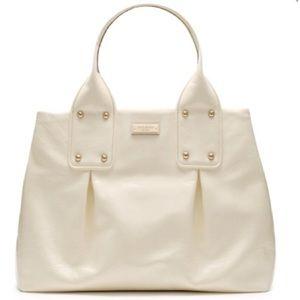 Late Spade Summerville Louis Cream Shoulder Bag